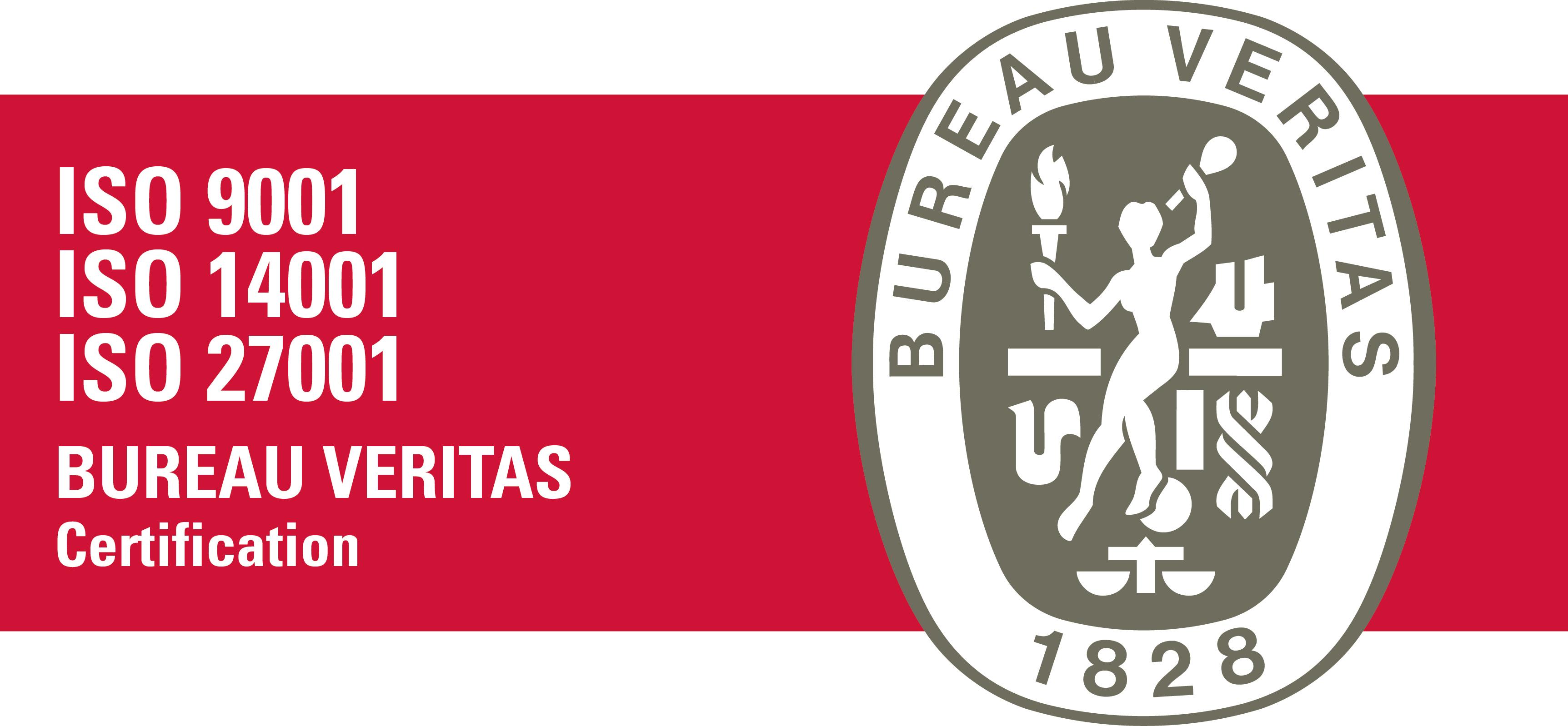 Logo Bureau Veritas ISO | Intermail BV