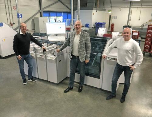 Eerste Böwe Systec 9G Smart enveloppeermachine in Nederland voor Intermail